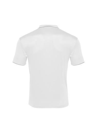 Macron Tişört Beyaz